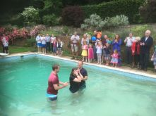 Baptism Grace Church Sussex 4